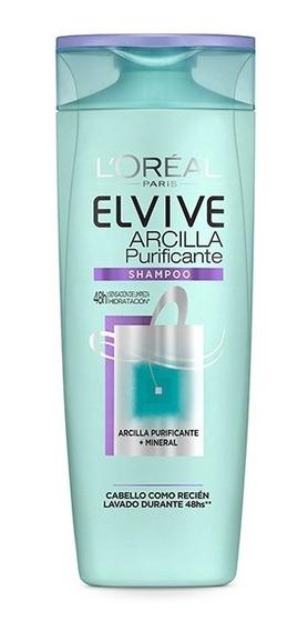 Elvive Arcilla Purificante Shampoo 400ml Loreal
