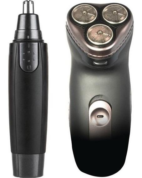 Vivitar Afeitadora Recargable + Depilador Oido Nariz Cejas