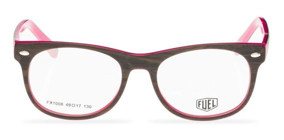 Óculos De Grau Fuel - Geométrico Infantil - Woodpecker