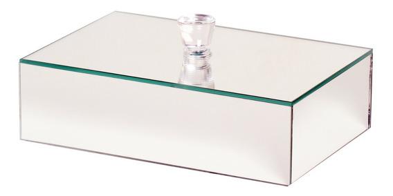 Caixa Organizadora Espelhada Porta Jóia 30x20 Penteadeira