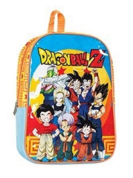 Mochila Escolar Dragon Ball Z Espalda 13 Pulgadas !!!