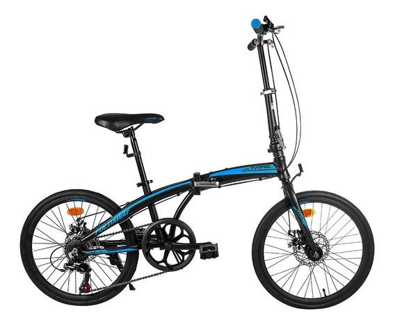 Bicicleta Plegable On Trail 20 Aluminio Freno Disco