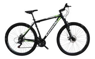 Bicicleta Mountain Bike Kawasaki R29 Aluminio Bloqueo +linga