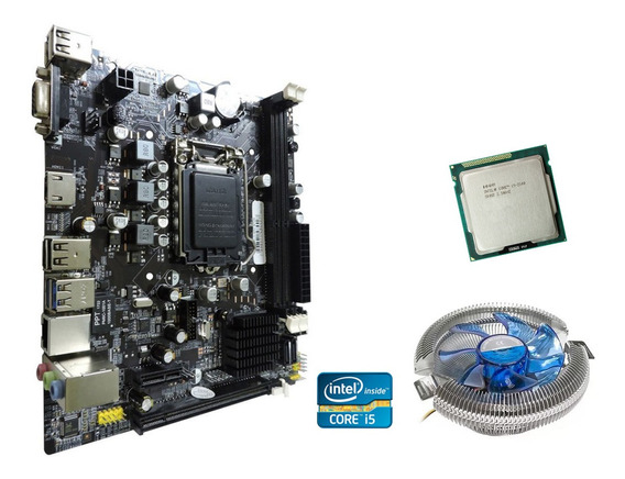 Kit Upgrade Core I5+ Placa Mãe Lga 1155+ Cooler Frete Grátis