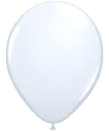 Imagen 1 de 4 de Globos Grandes Blancos X 50 12   30cm Aire Helio Deco