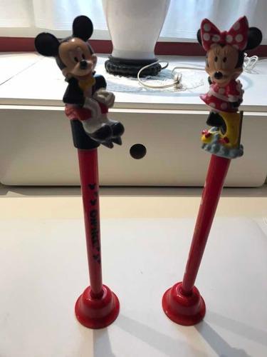 Dos Juguetes De Adorno Para Cuartos De Niños Con Mickey Mi