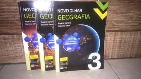 Livros De Geografia - Novo Olhar - Vol 1 2 3