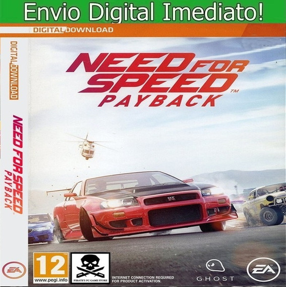 Need For Speed Payback Pc Hd Envio Imediato.