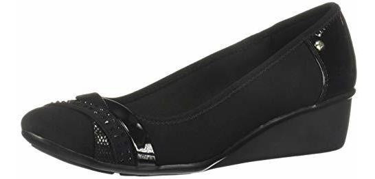 Anne Klein Ak7daelee2 Bk Zapatos De Tacón Para Mujer