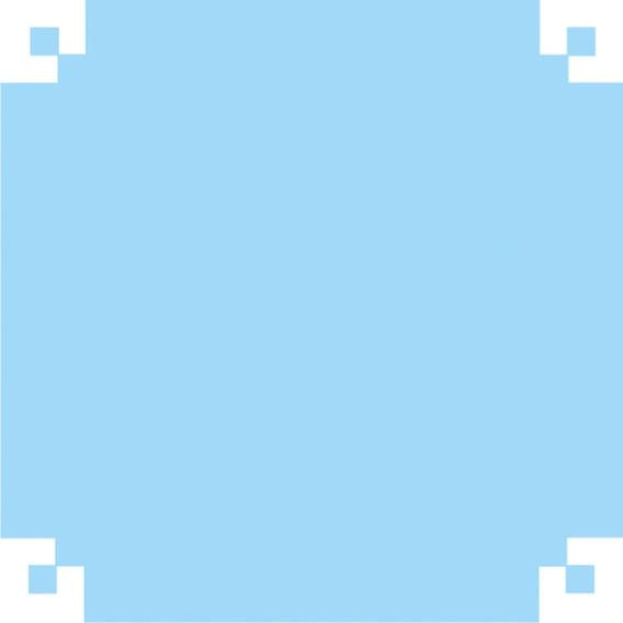 2 Papel Verniz Espelho 50x60 Azul Claro V.m.p. Pct.c/40