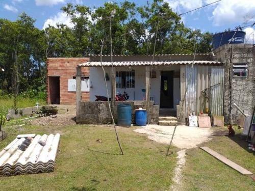 Casa Barata Na Praia De Itanhaém Com 2 Quartos.