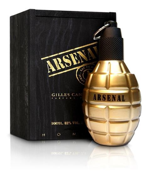 Perfume Arsenal Gold Masculino Gilles Cantuel 100ml Novo