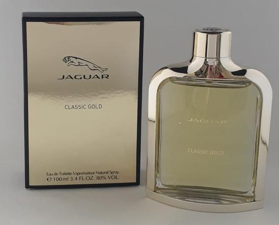 Jaguar Classic Gold For Men 100ml Edt + Brinde Amostra