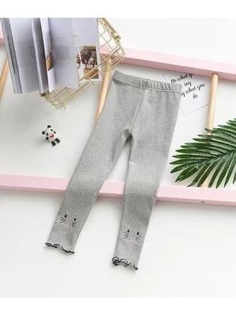 Leggins Mallón Pantalón Para Niñas Con Gatos Algodón Niña