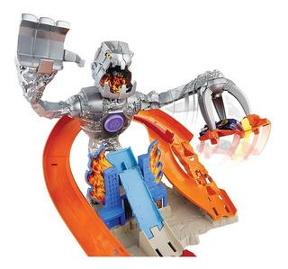 Pista Nitrobot Attack Robot Gratis 1 Hotwheels Hot Wheels