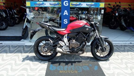 Yamaha Mt 07 Abs 2016 Vermelha Impecável