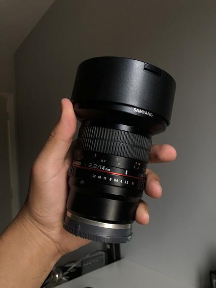 Lente Rokinon 14mm Emount (pra Cameras Sony)