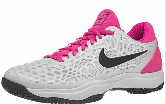 Zapatilla Nike Zoom Cage 3 Hc Platinum/thunder Grey