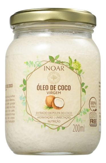 Noar Óleo De Coco - Óleo Capilar 200ml