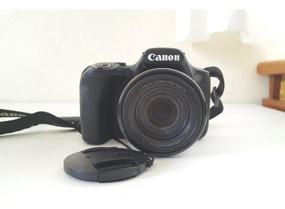 Câmera Canon Digital Semiprofissional Powershot Sx520hs