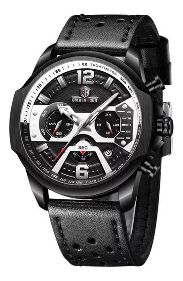 Relógio Golden Hour Masculino Original + Envio 24hrs