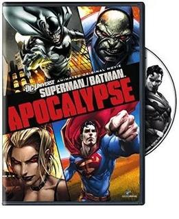Dvd Original - Superman Batman Apocalypse - Dublado
