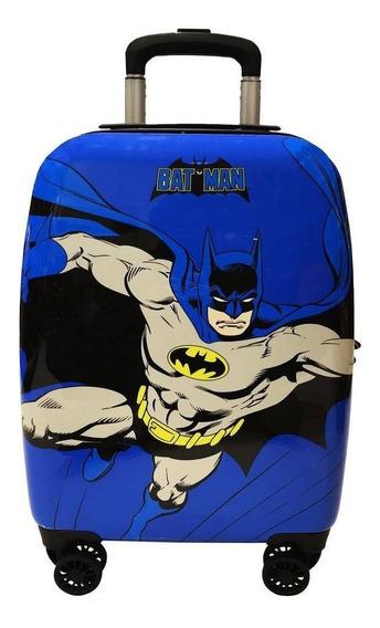 Mala De Bordo Pequena Batman Abs 4 Rodas 360º - 10187