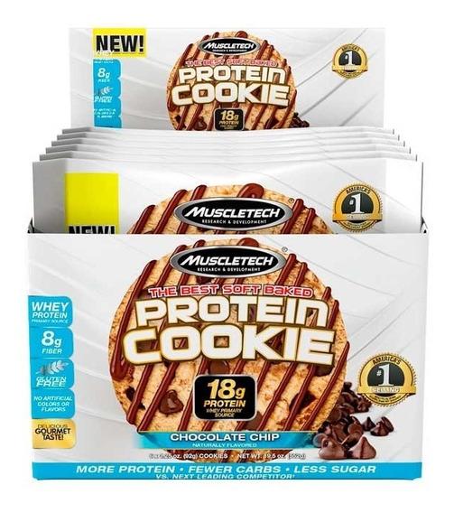 Barra De Proteína Muscletech Cookies Protein 6 Pack