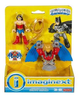 Imaginext Dc Super Friends Mujer Maravilla Traje De Vuelo