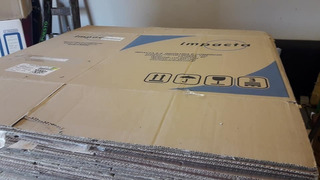 Caja Carton 60x40x40 Usadas Atado X10 Mudanza - La Fundacion