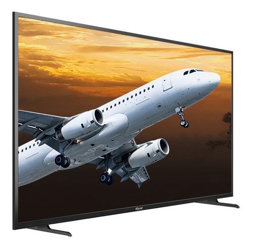 Imagen 1 de 7 de Smart Tv 4k Led 55 Pulgadas Iqual Q55 Uhd Hdmi Netflix Cuota
