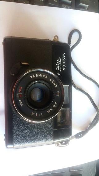Camera Fotográfica Muito Antiga Yashica Me1 Maquina De Foto
