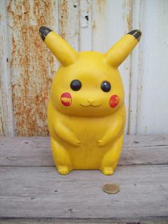 Muñeco De Goma Picachu Pokemon Coleccionista