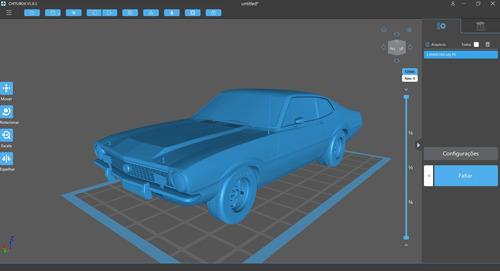 Imagem 1 de 10 de Modelagem 3d Automotiva, Ilustrações, Stl Para Impressão 3d.