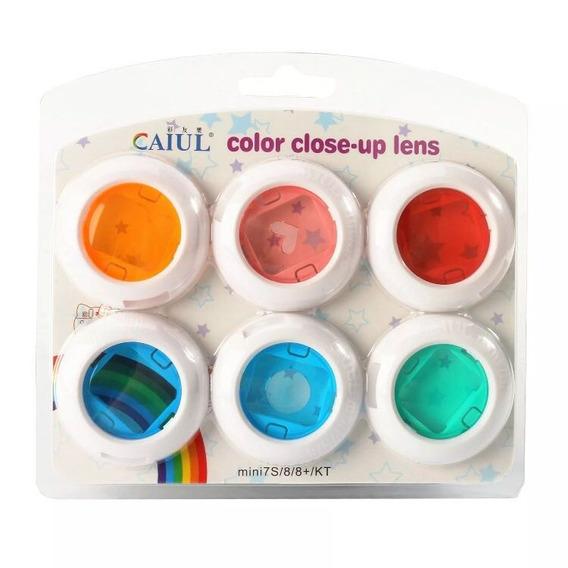 Kit Lentes Coloridas Para Filtro Instax Mini 7s/8/9