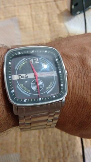 Relógio Douce Gabbana Masculino Novo 3 Atm Em Aco