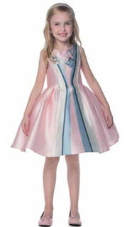 Vestido Petit Cherie Festa Infantil 10.12.31522