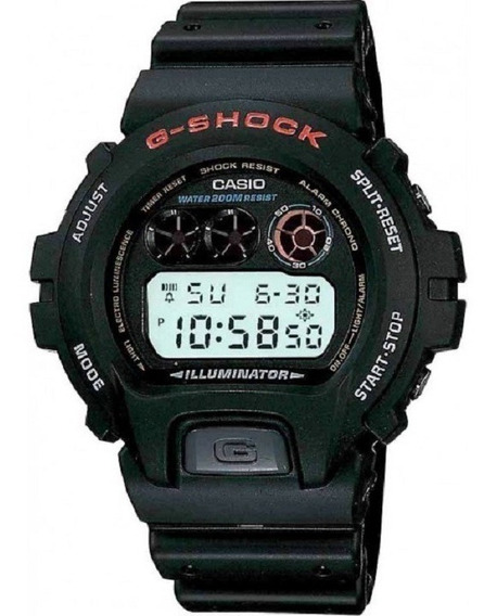 Relógio Casio Digital G-shock Masculino Dw-6900-1vdr