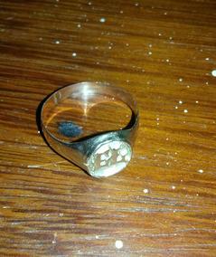 Anel De Ouro Maciço 14 K , 3,7 Gramas