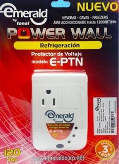 Protector Voltaje Emerald Mod E-ptn 120v Refrigeración