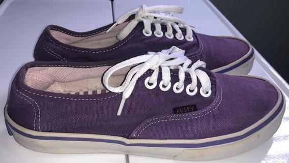 Zapatillas Rusty De Lona Violeta Número 36