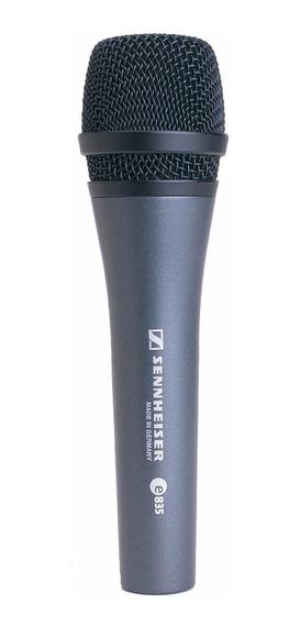 Sennheiser E835 Microfone Cardióide Dinâmico Made In Germany