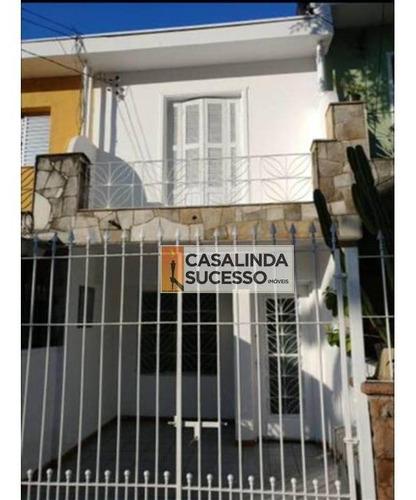 Sobrado Com 2 Dormitórios À Venda, 115 M² Por R$ 740.000,00 - Tatuapé - São Paulo/sp - So0368