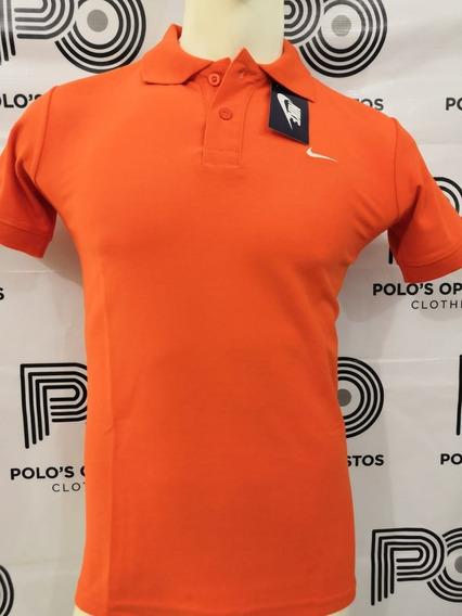 Playera Polo/ Nike L