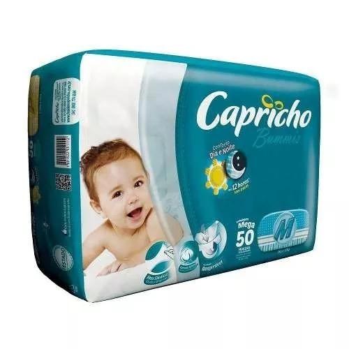 Fralda Capricho Bummis M Com 50 Unidades