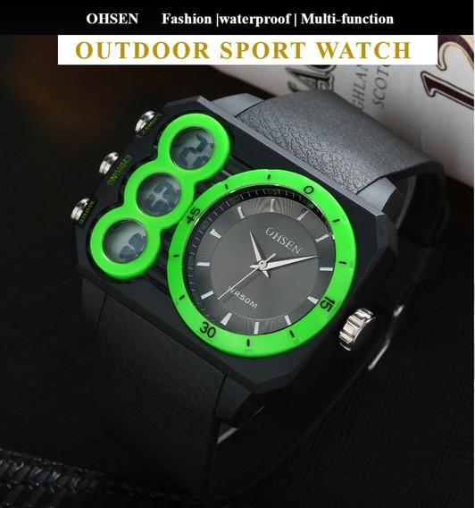 Digital De Quartzo Relógio Masculino Para Praticar Esportes.