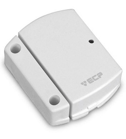 Sensor Magnético S/ Fio Ecp Intruder Portas Janelas Nota Tf