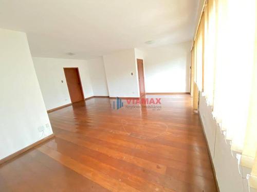 Apartamento Com 3 Dormitórios À Venda, 142 M² Por R$ 530.000,00 - Jardim Apolo - São José Dos Campos/sp - Ap2827