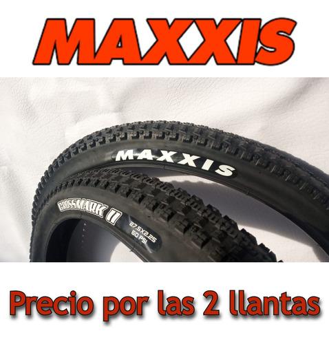 Imagen 1 de 10 de 2 Llantas Maxxis Crossmark I I 27.5*2.25/talón Convencional.