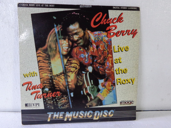 Chuck Berry Live At The Roxy With Tina Turner Laserdisc